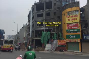 Cho thuê nhà mặt phố Đội Cấn 300m2 mt: 10m 2 tầng 80 tr/th. Quý mặt phố 0981337456
