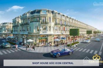 Cần bán Shophouse, Đất Nền ngay khu dân cư đông đúc,kiễu mẫu Pháp 4 mặt tiền đường 25m. 0909918656