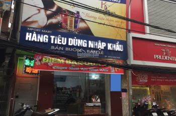 Cho thuê nhà mặt phố Nguyễn Ngọc Nại - 120m2 1 sàn, mặt tiền 5,5m xây 4 tầng, giá 33tr/th