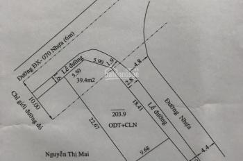 Cần bán đất Định Hòa gần bệnh viện tỉnh 1500 giường, giá 1.9 tỷ