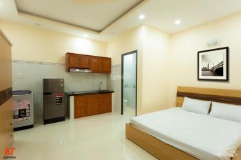 Căn hộ mini mới full nội thất ngay trung tâm Q10, hẻm ô tô, an ninh tốt, có ban công, thang máy