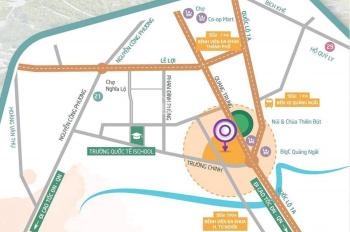 Mở bán đất nền Maris City trung tâm TP Quảng Ngãi, ngay ngã tư Quang Trung & Trường Chinh