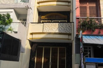 Cho thuê nhà mới đẹp 2 mặt tiền hẻm Lý Thánh Tông, Q.Tân Phú, dt:4x14m, 2lầu 3PN 3WC. Giá 15tr/th