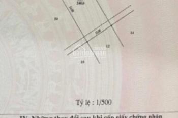 Cc bán đất biệt thự view hồ Văn Quán, Phúc La, HĐ, vị trí cực đỉnh để kd. S240m2, Mt 10m, giá 37 tỷ