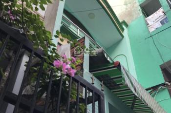 Cho thuê nhà đường Tuệ Tĩnh, phường 12, quận 11, dt: 3.5x12m, trệt, lầu, 2 phòng, 2WC. Giá 10 tr/th