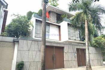 Cho thuê biệt thự Lương Định Của 8x19m gara trệt 3 lầu 4 phòng, P. Bình An, Quận 2