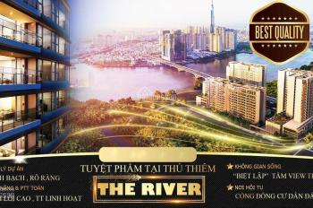 The River Thủ Thiêm Quận 2- Booking GD1-Chọn Căn Đẹp Gía Tốt Nhất-Cam Kết Có Căn- 0937 866 496