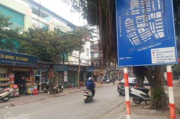 Cho thuê nhà MP Quỳnh Mai, mặt tiền 5,5m gần bệnh viện Thanh Nhàn