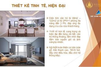 Căn 3 PN chung cư Thống Nhất 82 Nguyễn Tuân giá cực tốt chỉ 2.761 tỷ/ 88 - 123m2. Nhận nhà ở luôn