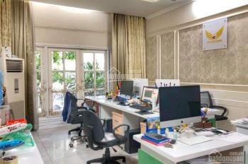 Cho thuê biệt thự Sài Gòn Pearl gần sông, full nội thất cao cấp, 6 phòng, hầm, 2 lầu, VP + ở
