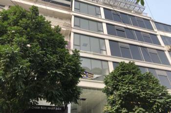Cho thuê nhà ngõ 57 Nguyễn Khánh Toàn, Cầu Giấy, Hà Nội. DT 65m2 * 6 tầng, MT 5,5m, giá: 38 tr/th