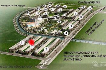 Chính chủ cần bán lô BL02 - 055 dự án Thiên Lộc, Sông Công, Thái Nguyên