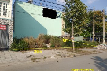 Cần bán nền gốc đất đối diện trường học, chợ, bệnh viện Chợ Rẫy 2, cách ngã tư Bà Hom