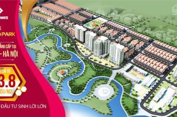 Bán đất nền gần Big C Mê Linh 11 triệu / m2 Dự án Diamond Park New, liên hệ Mr. Tâm 0946386555