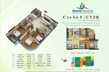 Bán căn 09 diện tích 92m2 thiết kế đẹp tại toà CT3 LH 0988782498