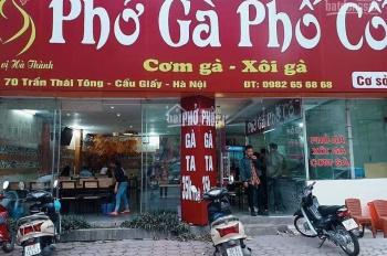 Cho thuê mặt bằng kinh doanh vị trí đẹp nhất phố Nam Đồng, S 18m2 MT 3m 2 tầng giá 15 triệu/tháng