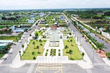 Trục chính kênh du lịch Sông Trăng Cát Tường Phú Sinh DT 5*20m đường 18m, SHR, giá 1.35 tỷ gần CV
