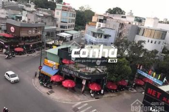 Cho thuê nhà góc 2 mặt tiền đường Bạch Đằng, phường 2, Tân Bình. DT 8x21m, nở hậu 18m, trệt lầu
