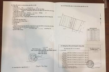 Chính chủ bán đất sổ đỏ riêng giá 2.5tỷ/1000m đường An Hạ, xã Phạm Văn Hai, Bình Chánh