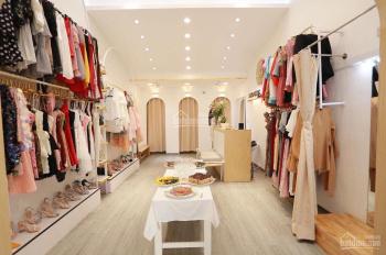 Nhượng shop thời trang vị trí đẹp nhất phố Đông Các S 40m2 MT 4m giá thuê 14 triệu/tháng
