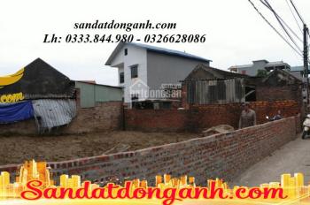 140m2 đất ở sổ đỏ trung tâm xã Bắc Hồng - Đông Anh đường ngõ thông, ô tô con đỗ cửa