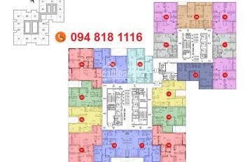 Chính chủ bán gấp chung cư 105 Hải Phát, Tầng 2007, 84.13m2, giá 22tr/m2. LH 0904999135.