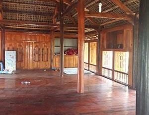 Cần bán nhà gỗ xâng trà và kháo ở quê X. Xuân Giang - H. Quang Bình - Hà Giang