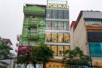 Cho thuê nhà mặt phố Thái Hà - Đống Đa. DT 120m2 x 6 tầng, Mt 7m, LH 0984213186