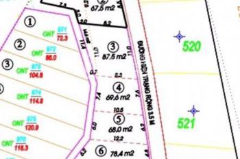 Tổng hợp các lô đất đẹp đường Phú Nông, xã Vĩnh Ngọc. Vị trí đẹp