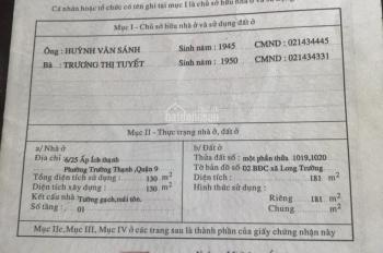 Bán mặt tiền kinh doanh đường Nguyễn Xiển, 181m2, giá 15.2 tỷ, có sẵn văn phòng như hình