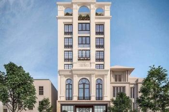 Cho thuê toà nhà mặt phố Lê Đức Thọ - Hàm Nghi. DT 250m2 x 10 tầng MT 11m, LH 0984213186