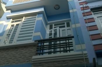 Cho thuê nhà ngay ngã 3 đường Cầu Xéo, Q. Tân Phú, trệt + 2 lầu, giá 17tr. LH: 0903138144