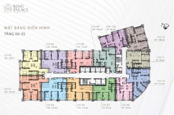 Cơ hội duy nhất cho 5 suất khách hàng đặt chỗ dự án King Palace chiết khấu lên đến 25%. LH 0946 962