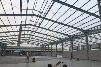 Cho thuê kho xưởng đường Cổ Bi, Gia Lâm, gần ngã tư Trâu Quỳ, DT 3000m2 (có chia nhỏ diện tích)