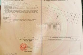 Bán đất mặt tiền đường Nguyễn Thị Rành, DT=8x55, thổ cư 324m, xã Trung Lập Hạ