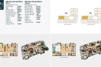 Căn duplex TSG Lotus, 190 Sài Đồng 358,5m2, ban công ĐB, view Vinhomes Riverside, 6PN, 4VS, 6LG