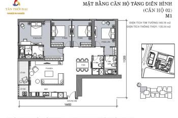 Chính chủ cần bán cắt lỗ căn góc 4PN tầng cao view tây hồ thoáng mát, tòa M1 và M2 Lh: 0976426857