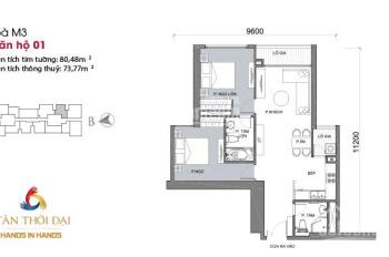 (Chính chủ) bán căn M3 dt 80m2, 2 phòng ngủ chung cư Metropolis giá 6 tỷ LH Huy 0976426857