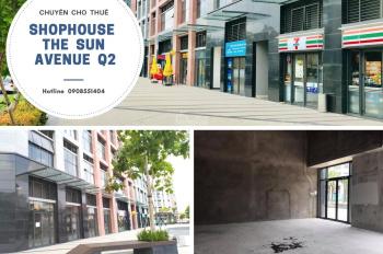 Shophouse The Sun Avenue - ngay mặt tiền Mai Chí Thọ - giá thuê rẻ nhất khu vực quận 2.