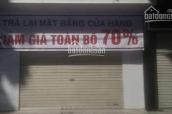Cho thuê nhà mặt phố Yên Lãng 50m2 mặt tiền 4m thuê thẳng nhận nhà ngay trong tháng