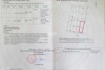 Tôi muốn bán lô đất 102m2, Tân Xã, khu CNC Hòa Lạc, giá 597 triệu, LH 0836440600
