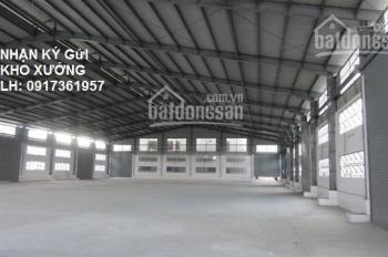 Cho thuê kho xưởng 460m2 và 500m2 đường Hồ Học Lãm, quận Bình Tân