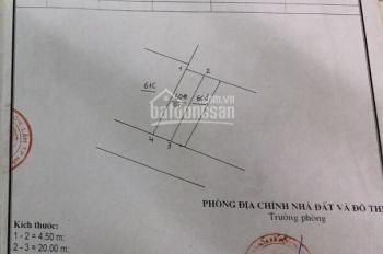 Bán mảnh đất đẹp mặt phố Cửu Việt 2 kinh doanh buôn bán sầm uất 90m2 (4.5x20m) 0902883342