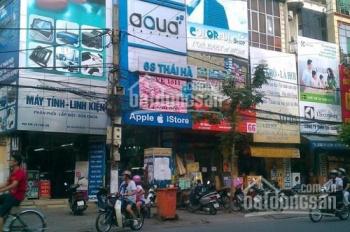 Cho thuê mặt bằng trên   phố Thái Hà diện tich 45mx4t mặt tiền 3,5m giá thuê 35tr LH 00338998398