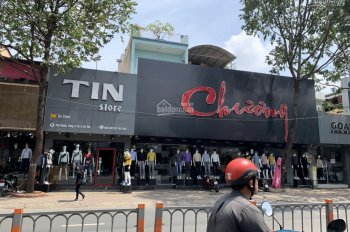 Cho thuê 2 mặt tiền Quang Trung, Gò Vấp, 10.5x25m, trệt + 1 lầu, khu kinh doanh thời trang sầm uất