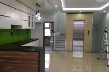 Bán nhà 6 tầng mới, thang máy 2 mặt phố, ngõ 24 Kim Đồng, Giáp Bát, DT 55m2, giá 11,6 tỷ, MT 5,6m