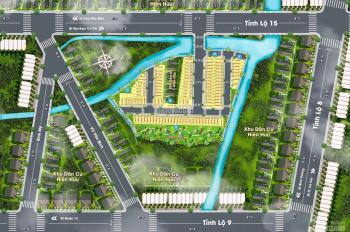 Bán đất ngay mặt tiền đường tỉnh lộ 15(40m), thổ cư 100%, XDTD, cam kết 4 tháng tới sẽ có sổ