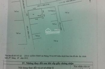 Cần bán gấp lô đất góc 2 mặt tiền đường 7m khu Kiều Đàm 9,25x14,75m giá 10,5 tỷ