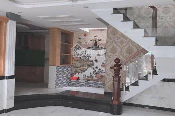 Nhà mới , sổ hồng riêng 5x15m 1 lửng 2 lầu , đường Trần văn mười