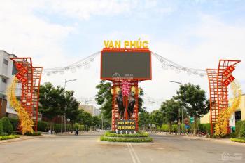Cần sang lại lô đất MT Nguyễn Thị Nhung trong KĐT Vạn Phúc, Thủ Đức. Chỉ 18tr/100m2 (5x20m), SHR